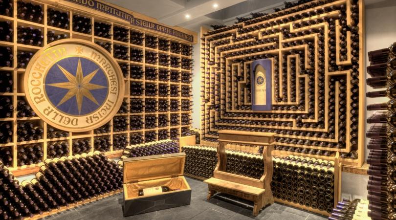Creare una cantina di vino